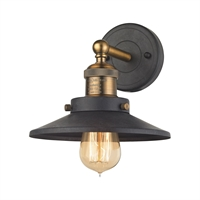 Picture for category Elk 67180/1 English Pub Vanity Lighting 8in Brass Tones Metal 1-light
