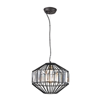Picture for category Elk 14249/1 Yardley Pendants 13in Bronze Tones Metal Crystal 1-light