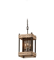 Picture for category Troy F4063 Merchant Street Pendants 23in Rusty Iron With Salvaged Wood Slats