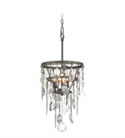 Picture for category Troy F3805 Pendants Bistro Graphite Candelabra Based Ceiling 3 Lights 13 inches