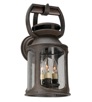 Picture for category Troy B4512 Wall Lantern Old Trail Centennial Rust Solid Aluminum 3Light 18 inch