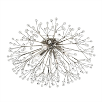 Picture for category Hudson Valley 6000-PN Bold Glamorous Flush Mounts Nickel Tones 4-light