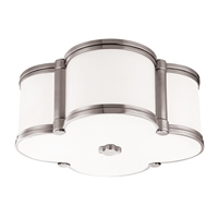 Picture for category Hudson Valley 1212-PN Timeless Elegance Flush Mounts Nickel Tones 2-light