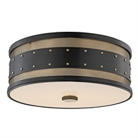 Picture for category Hudson Valley 2206-AOB Chic Vintage Flush Mounts Bronze Tones 3-light