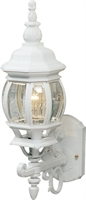 Picture for category Artcraft AC8090WH Classico Outdoor Lighting Lamps 6in White Cast Aluminum