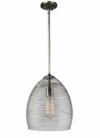 Picture for category Artcraft CL15052BN Artisan Pendants 9in Brushed Nickel Plated 1-light