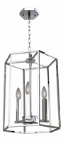 Picture for category Artcraft AC10770CH Modern Elegance Chandeliers 13in Chrome Metal 3-light
