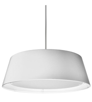 Picture for category Dainolite TDLED-24LP-WH Signature Pendants 24in White Fabric 1-light