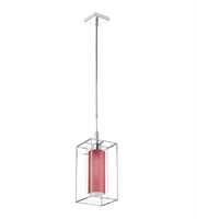 Picture for category Dainolite CBE-61P-PC-795 Cubo Pendants Chrome Steel 1-light