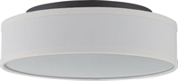 Picture for category Nuvo 62/525 Heather Ceiling Medallion Lighting 13in Aged Bronze Glass 1-light