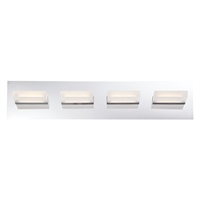 Picture for category Eurofase 28021-018 Olson Bath Lighting 24in CHROME 4-light