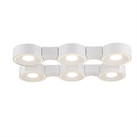 Picture for category Eurofase 30278-011 Stavro Wall Lantern 15in WHITE 6-light