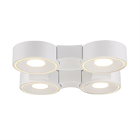 Picture for category Eurofase 30277-014 Stavro Wall Lantern 15in WHITE 4-light