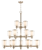 Picture for category Livex 40219-35 Middlebush Chandeliers Nickel Tones Steel 963-light