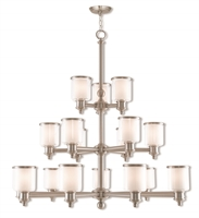 Picture for category Livex 40219-91 Middlebush Chandeliers Nickel Tones Steel 963-light