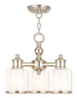 Picture for category Livex 40203-35 Middlebush Mini Chandeliers Nickel Tones Steel 3-light