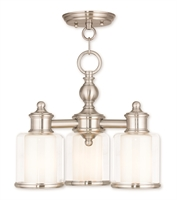 Picture for category Livex 40203-91 Middlebush Mini Chandeliers Nickel Tones Steel 3-light