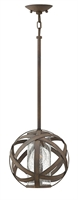 Picture for category Hinkley 29707VI Carson Outdoor Lighting Lamps 10in Vintage Iron Metal 1-light