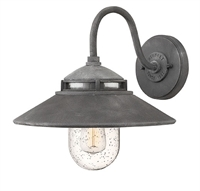 Picture for category Hinkley 1110DZ Atwell Outdoor Lighting Lamps 12in Aged Zinc Aluminum 1-light