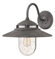 Picture for category Hinkley 1114DZ Atwell Outdoor Lighting Lamps 15in Aged Zinc Aluminum 1-light