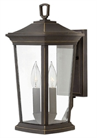 Picture for category Hinkley 2360OZ Bromley Outdoor Lighting Lamps 8in Bronze Tones Aluminum 2-light
