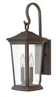 Picture for category Hinkley 2364OZ Bromley Outdoor Lighting Lamps 8in Bronze Tones Aluminum 2-light