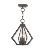 Picture for category Livex Lighting 40922-07 Mini Chandeliers Bronze Steel 3-light