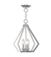 Picture for category Livex Lighting 40923-05 Mini Chandeliers Polished Chrome Steel 3-light