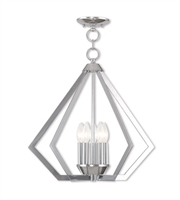 Picture for category Livex Lighting 40925-05 Chandeliers Polished Chrome Steel 5-light
