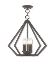 Picture for category Livex Lighting 40925-07 Chandeliers Bronze Steel 5-light