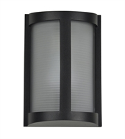 Picture for category Access 20042LEDMG-BL/RFR Pier Wall Sconces 7in Black Aluminum 1-light