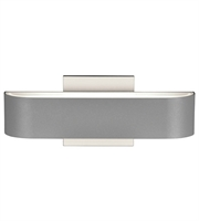 Picture for category Access 20046LEDDMG-SAT/FST Montreal Wall Sconces 12in Satin Aluminum 2-light