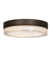 Picture for category Access 20776LEDD-BRZ/OPL Solid Flush Mounts Bronze Metal 1-light