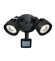 Picture for category Access 20785LED-BL Guardian Spot Lighting Black Aluminum 2-light