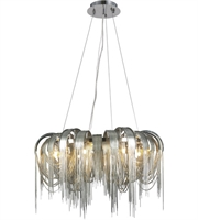 Picture for category Elegant 1505D31C Blythe Pendants Chrome 8-light