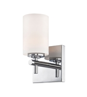 Picture for category Elk BV6031-10-15 Barro Bath Lighting 5in Chrome Metal Glass 1-light