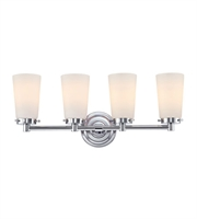 Picture for category Elk BV7T4-10-15 Madison Bath Lighting 23in Chrome Metal Glass 4-light