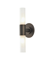 Picture for category Elk BV820-10-45 Cylinder Bath Lighting 5in Oil Rubbed Bronze Metal Glass