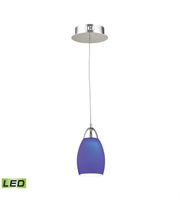 Picture for category Elk LCA201-7-15 Buro Pendants 4in Chrome Metal Glass 1-light