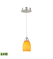 Picture for category Elk LCA201-8-15 Buro Pendants 4in Chrome Metal Glass 1-light