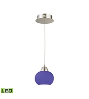 Picture for category Elk LCA401-7-16M Ciotola Pendants 6in Satin Nickel Metal Glass 1-light