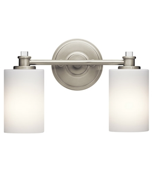 Picture of Kichler 45922NI Joelson Bath Lighting 14in Brushed Nickel Steel 2-light