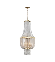 Picture for category Dimond 1142-008 Chaumont Chandeliers 21in Antique Gold Leaf Metal 5-light