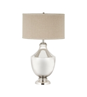 Picture for category Dimond 8991-001 Massie Brass Urn Table Lamps 21in Polished Nickel Brass 1-light