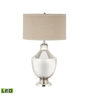 Picture for category Dimond 8991-001-LED Massie Brass Urn Table Lamps 21in Polished Nickel Brass