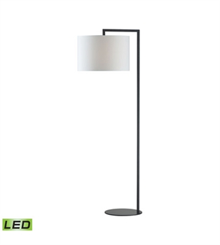 Picture of Dimond D2729-LED Bronze Stem Floor Lamps 21in Matte Black Metal 1-light
