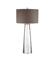 Picture for category Dimond D2779 Tapered Cylinder Table Lamps 18in Mercury Glass Glass 1-light