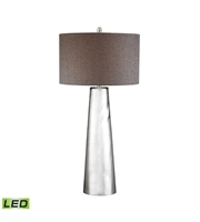 Picture for category Dimond D2779-LED Tapered Cylinder Table Lamps 18in Mercury Glass Glass 1-light