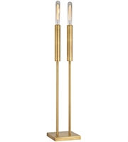 Picture for category Dimond D3111 Godwin Table Lamps 7in Antique Brass Metal 2-light