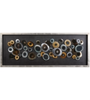 Picture for category Uttermost 04058 Discs Decor 62in Siler Mdf Glass Iron Acrylic